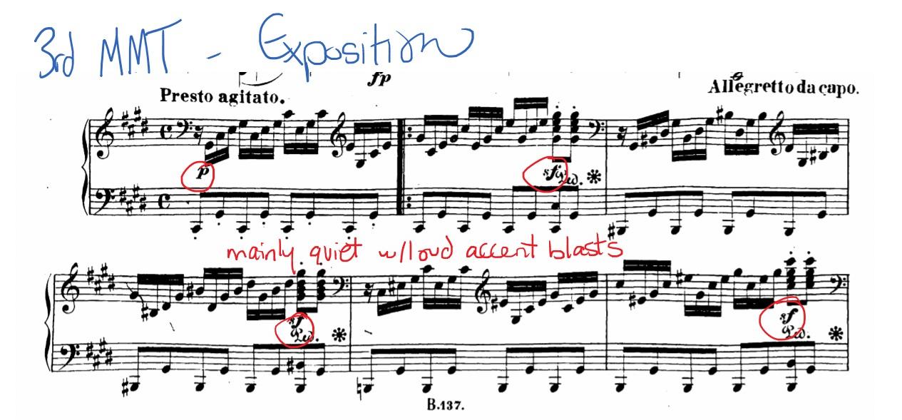 "analysis of moonlight sonata Free essay: classic composers: ludwig van beethoven ""tempest"" & ""moonlight"" sonata's: a coupled analysis beethoven's ""tempest"" and ""moonlight"" sonatas."